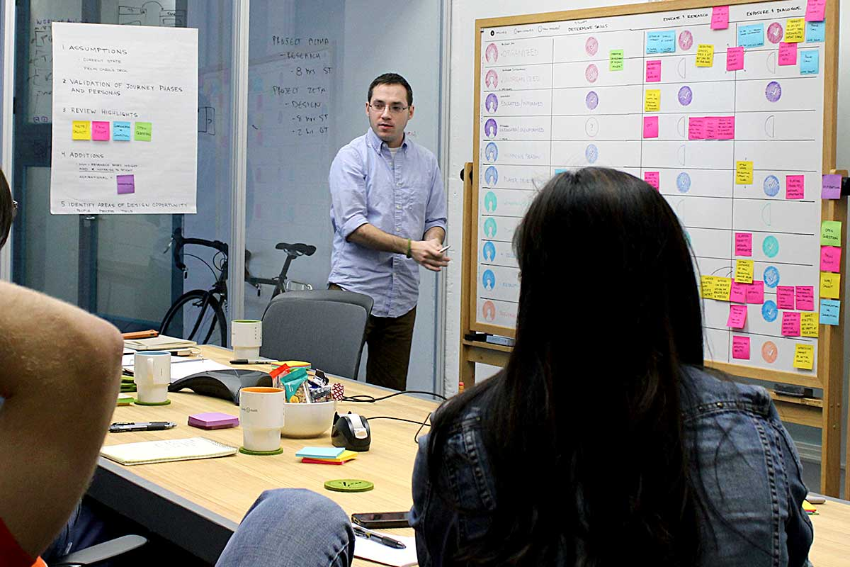 Fuzzy Math's training covers a broad variety of UX topics