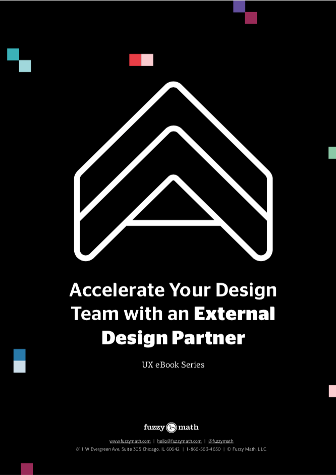 UX ebook: Accelerate Your Design Team with an External Design Partner
