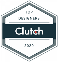 Clutch award for the top design agency worldwide in 2020