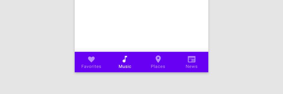 Google-bottom-nav-example