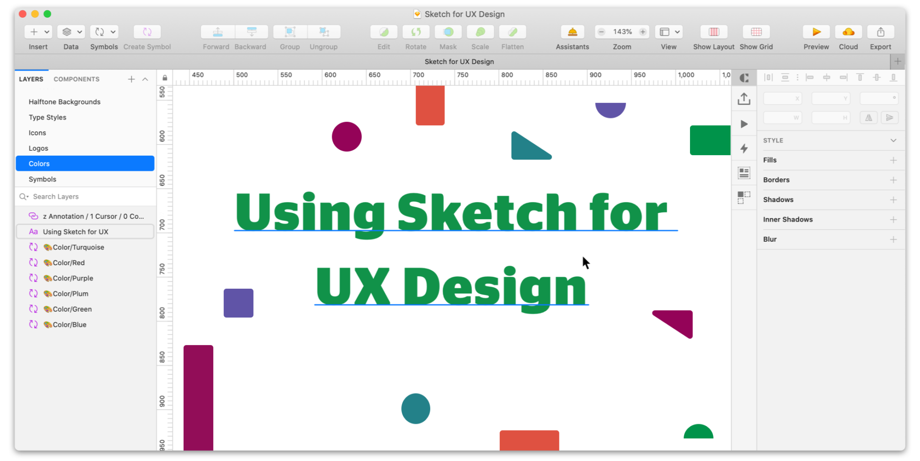 "Feature image for ""Use Sketch for UX Design: The Ultimate Guide"" blog"