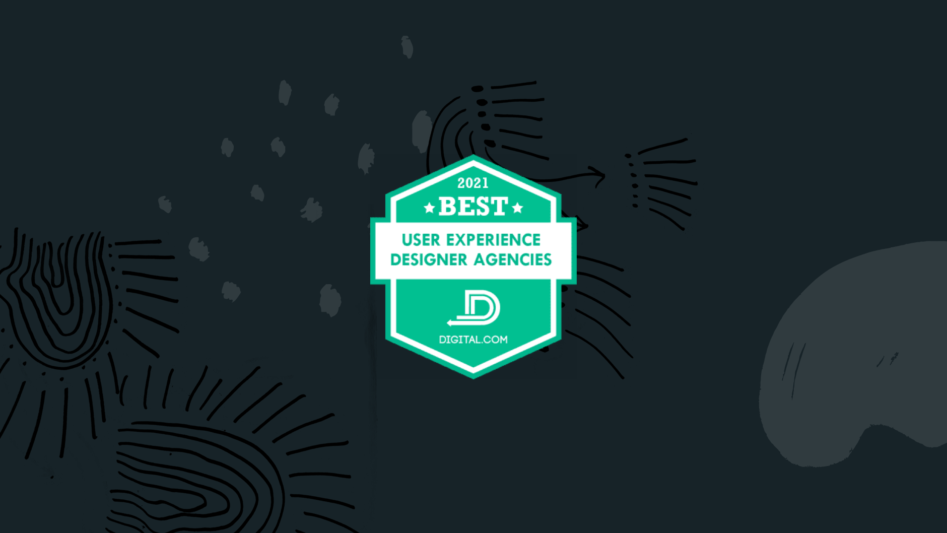Digital.com award for the best user experience designer agencies in 2021